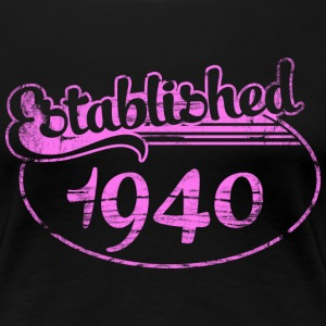 established 1940 dd (fr) Tee shirts - T-shirt Premium Femme