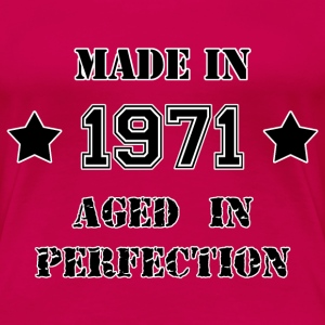 Made in 1971 T-Shirts - Frauen Premium T-Shirt