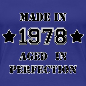 Made in 1978 T-shirts - Dame premium T-shirt