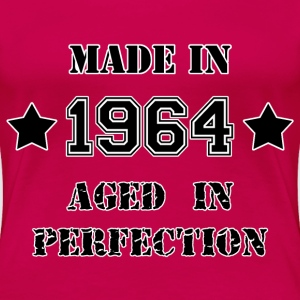 Made in 1964 T-Shirts - Frauen Premium T-Shirt