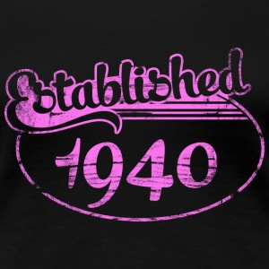 established 1940 dd (sv) T-shirts - Premium-T-shirt dam