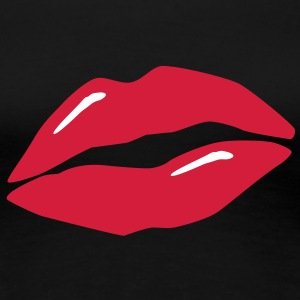 lips / kiss / mouth Tee shirts - T-shirt Premium Femme