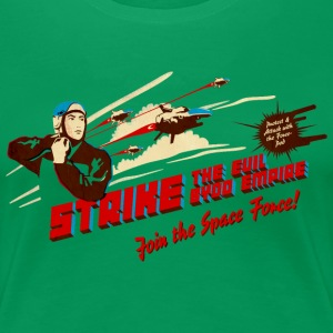 Join the Space Force (brightshirt) T-Shirts - Frauen Premium T-Shirt