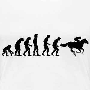 horse racing evolution T-shirt - Maglietta Premium da donna
