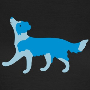 Border Collie T-shirts - T-shirt dam