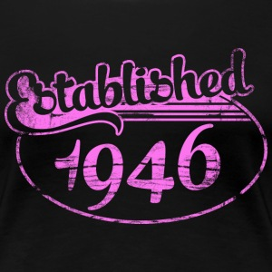 established 1946 dd (es) Camisetas - Camiseta premium mujer