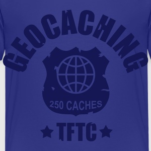 geocaching - 250 caches - TFTC / 1 color Camisetas - Camiseta premium niño