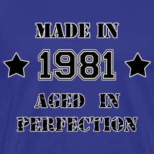 Made in 1981 Tee shirts - T-shirt Premium Homme