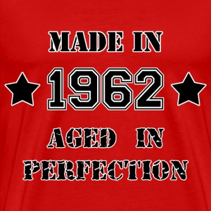 Made in 1962 T-shirts - Mannen Premium T-shirt