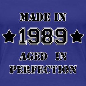 Made in 1989 T-shirts - Vrouwen Premium T-shirt