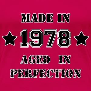 Made in 1978 T-shirt - Maglietta Premium da donna