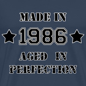 Made in 1986 Tee shirts - T-shirt Premium Homme