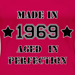 Made in 1969 T-shirts - Premium-T-shirt dam