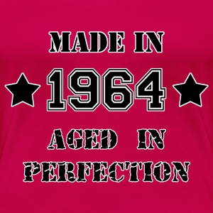 Made in 1964 T-shirts - Vrouwen Premium T-shirt
