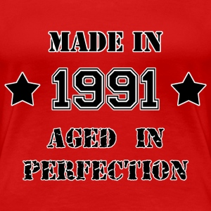 Made in 1991 T-Shirts - Frauen Premium T-Shirt