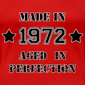Made in 1972 T-Shirts - Women's Premium T-Shirt