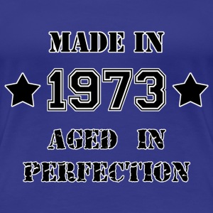Made in 1973 T-shirts - Vrouwen Premium T-shirt