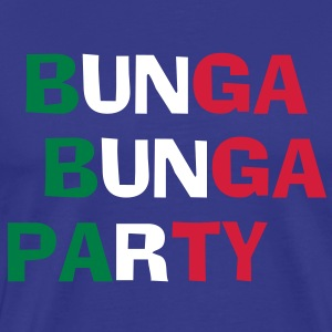 Bunga Bunga Party T-skjorter - Premium T-skjorte for menn