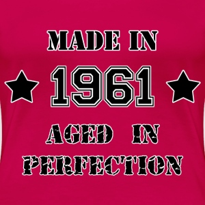 Made in 1961 T-Shirts - Frauen Premium T-Shirt