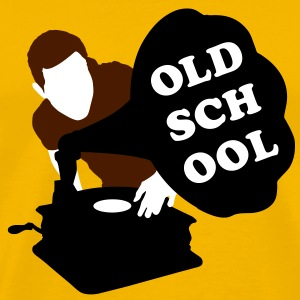 Old school DJ T-shirts - Mannen Premium T-shirt