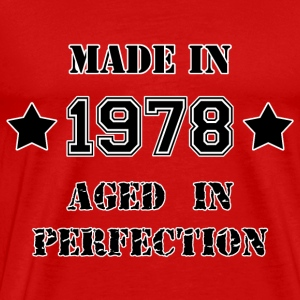 Made in 1978 Tee shirts - T-shirt Premium Homme