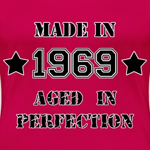 Made in 1969 T-shirts - Dame premium T-shirt