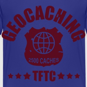 geocaching - 2500 caches - TFTC / 1 color Camisetas - Camiseta premium niño