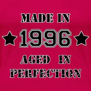 Made in 1996 T-shirts - Premium-T-shirt dam