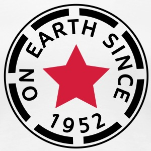 on earth since 1952 (uk) T-Shirts - Women's Premium T-Shirt