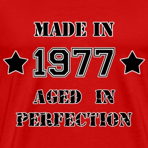 Made in 1977 T-shirts - Herre premium T-shirt