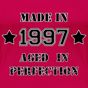 Made in 1997 T-shirts - Dame premium T-shirt