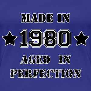 Made in 1980 T-shirts - Dame premium T-shirt