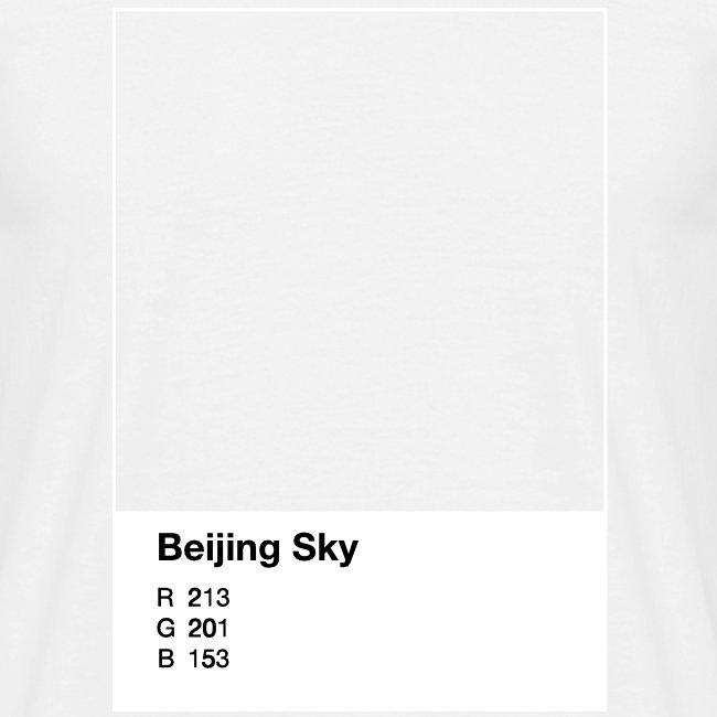 Beijing Sky, man