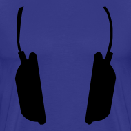 Ontwerp ~ Men Basic Shirt: Jeff Residenza - Headphone