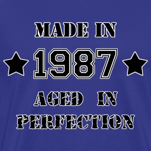 Made in 1987 T-shirts - Premium-T-shirt herr