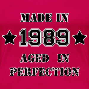 Made in 1989 T-Shirts - Women's Premium T-Shirt