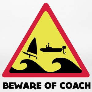 Beware Of Coach  - Laser Edition Girls Tee - Frauen Premium T-Shirt