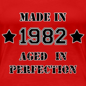 Made in 1982 T-shirts - Dame premium T-shirt