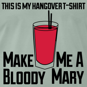 Design ~ This is my hangover T-shirt