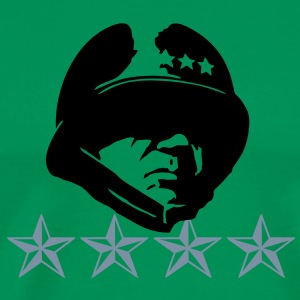 Patton General 4 Stars  T-Shirts - Men's Premium T-Shirt