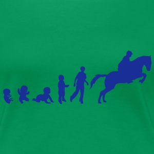 evolution equitation cheval8 obstacle sa Tee shirts - T-shirt Premium Femme