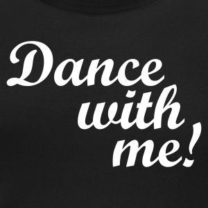 Nero Dance with me! T-shirt - T-shirt scollata donna