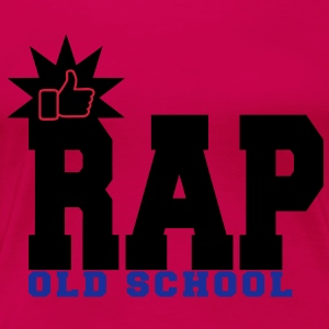 rap old school T-Shirts - Women's Premium T-Shirt
