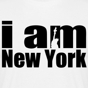 i am new york T-Shirts - Männer T-Shirt
