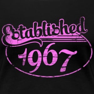 established 1967 dd (es) Camisetas - Camiseta premium mujer