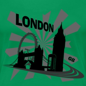 London - United Kingdom for Girls - Women's Premium T-Shirt