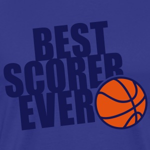 BEST BASKETBALL SCORER EVER 2C T-Shirt NS - Men's Premium T-Shirt