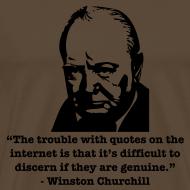 Design ~ Winston's internet quote