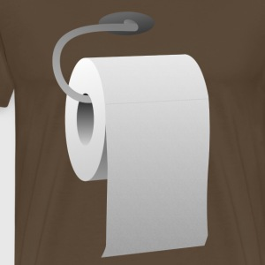 toilet paper roll - Men's Premium T-Shirt