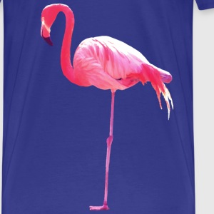 flamant rose Tee shirts - T-shirt Premium Homme